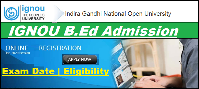 IGNOU B.Ed Notification 2020